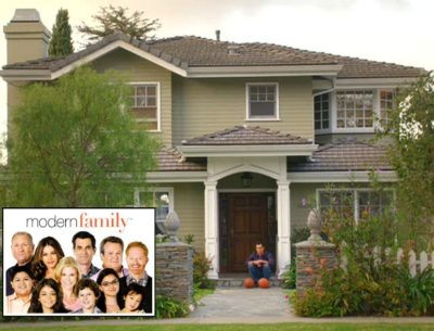 Modern Family Dunphy house on Dunleer in LA