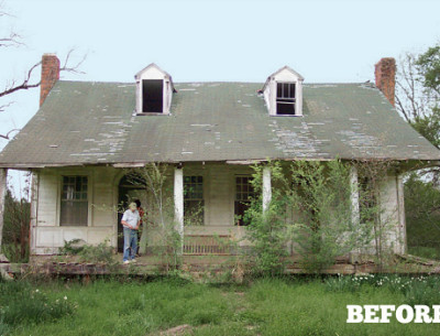 Reviving an Old Plantation House in Mississippi