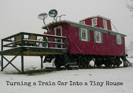 Train Car Turned Into a Tiny House