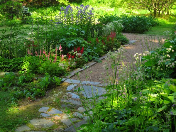 garden path Vermont house for sale