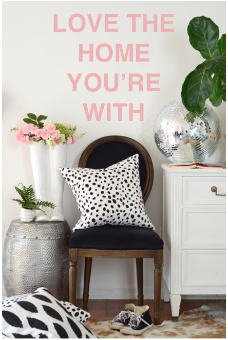 Love the Home You're With Nesting Place