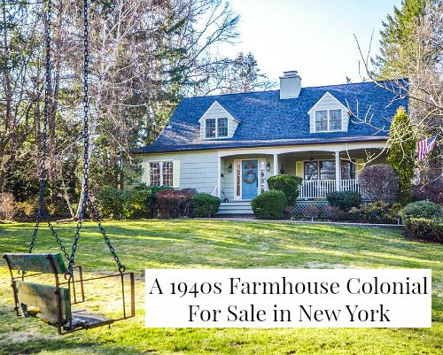 Renita's 1940s Farmhouse Colonial in New York
