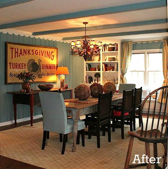 Renita's dining room after remodel