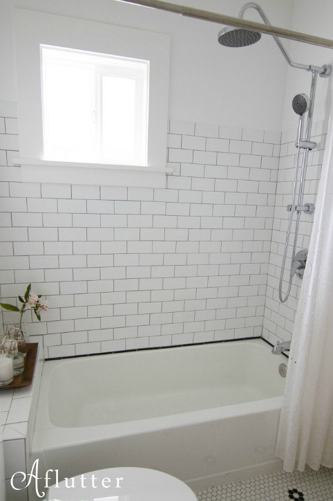 A Small Bungalow Bathroom Makeover Hooked On Houses
