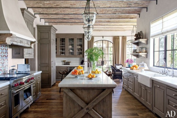 Tom Brady and Giselle Bundchen's house Architectural Digest (7)