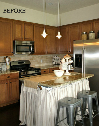 Tricia's Cottage kitchen before