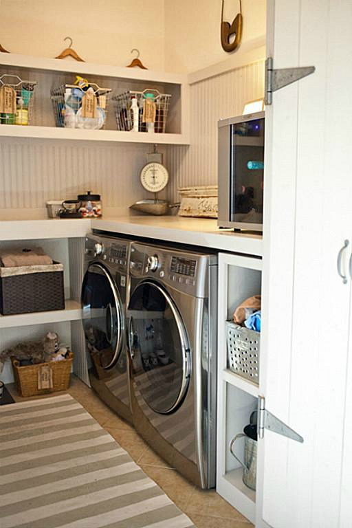 Tricia's Little Cottage on the Pond laundry room