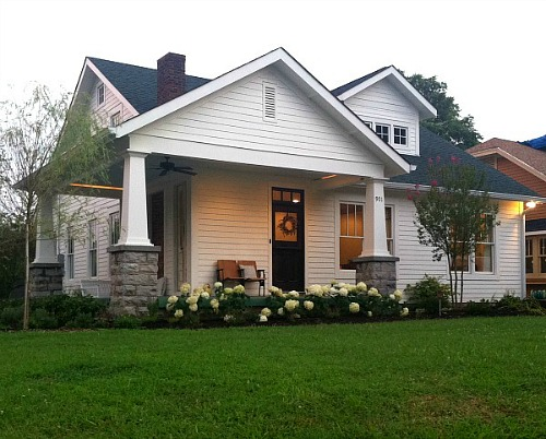 White Bungalow After Reno