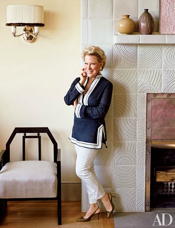 Bette Midler's Manhattan Penthouse in Architectural Digest 2014