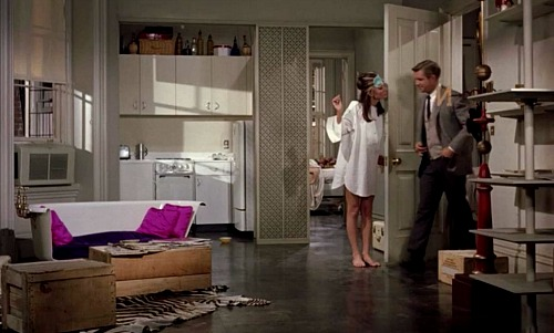 Holly Golightly's apartment in Breakfast at Tiffany's 3