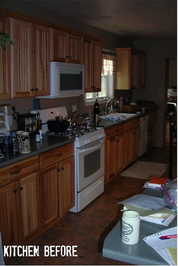 Miss Mustard Seed Marian's Kitchen BEFORE