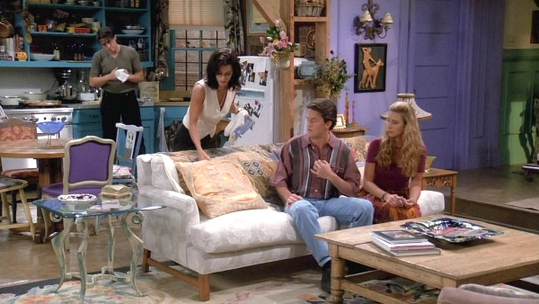 Monica's apartment on Friends 4