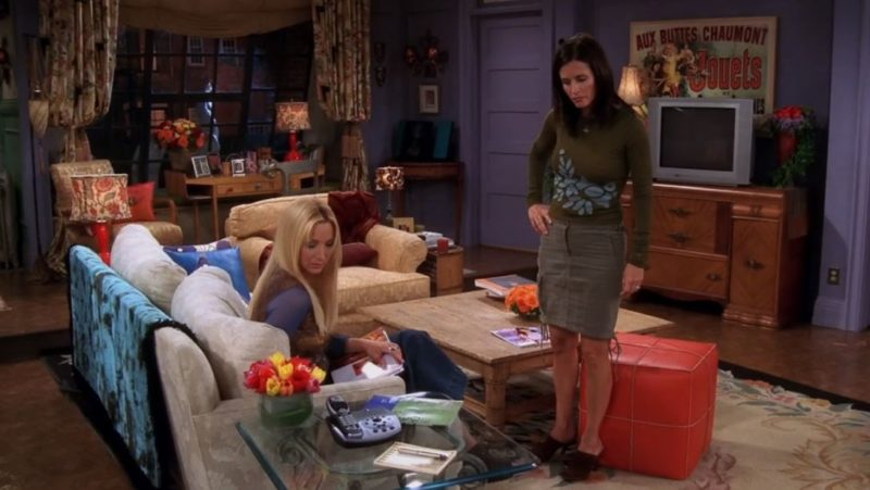 Monica's apartment on Friends Jouets poster
