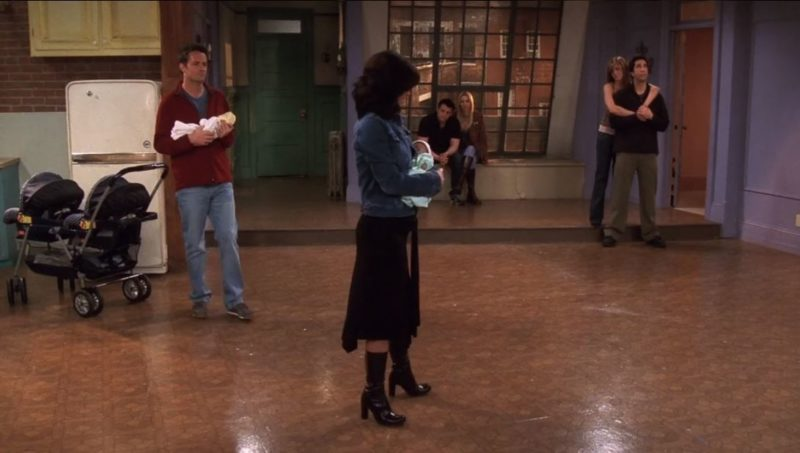 Monica's empty apartment in final episode Friends
