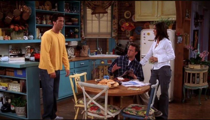 Monica's kitchen on Friends Season 8