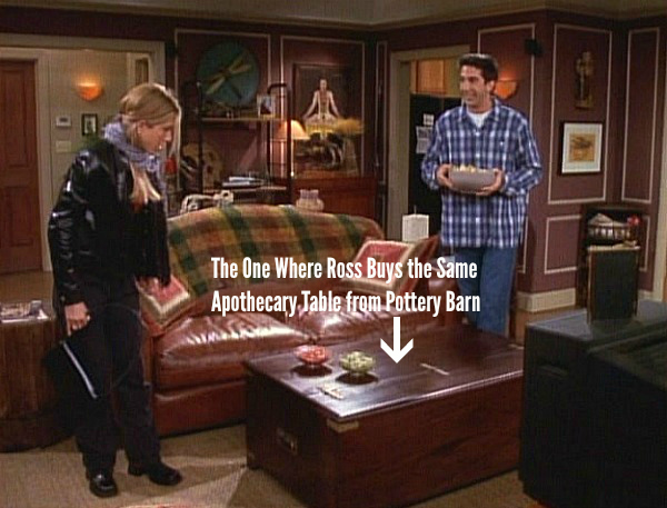 "The One with the Apothecary Table on ""Friends"" 
