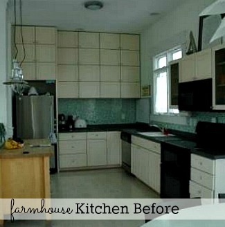 Rie's Home & Harmony farmhouse kitchen before