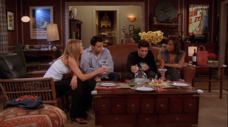 Ross's apartment on Friends