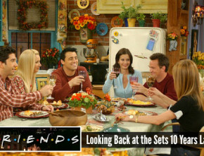 "Set Design on the TV Show ""Friends"" 