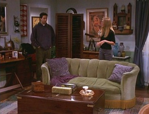 "The One with the Apothecary Table episode of ""Friends"" 