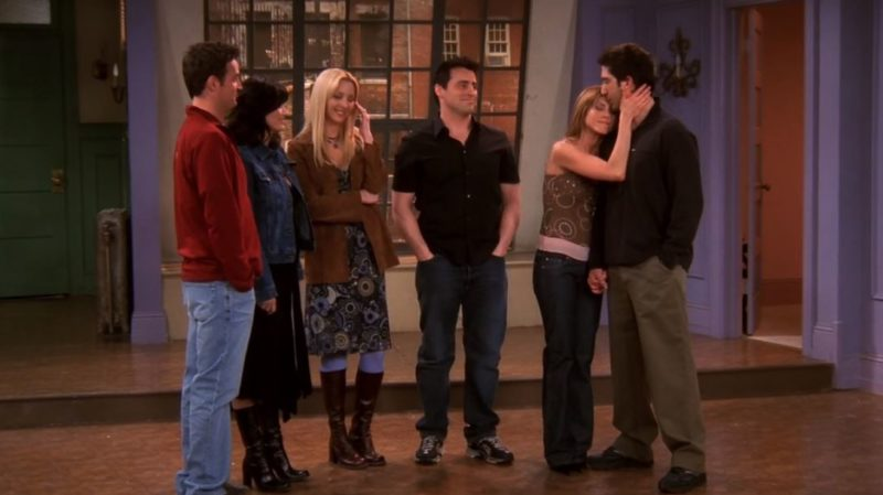 final episode of Friends Monica's empty apartment