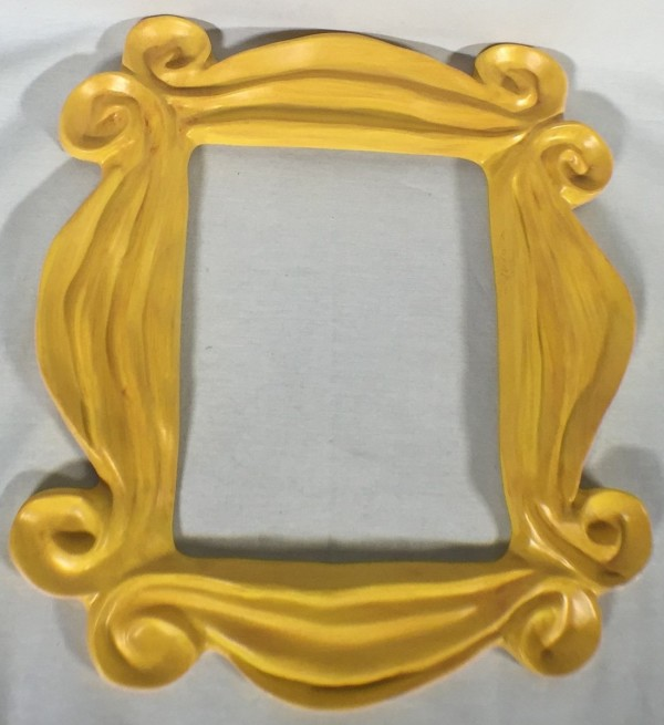 yellow frame around peephole for sale friends
