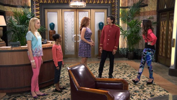 Apartment Lobby on TV Show Jessie (3)
