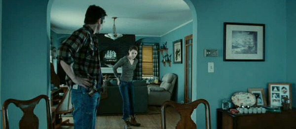 Bella's living room in Twilight movie