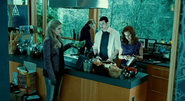 Cullen kitchen in movie Twilight 2