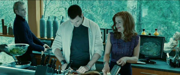 Cullen kitchen in movie Twilight