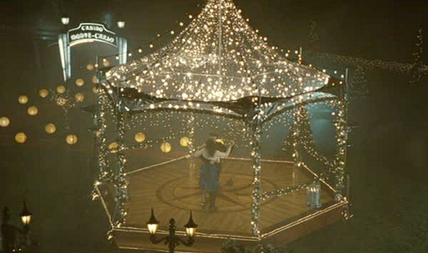 Edward and Bella dancing in gazebo Twilight