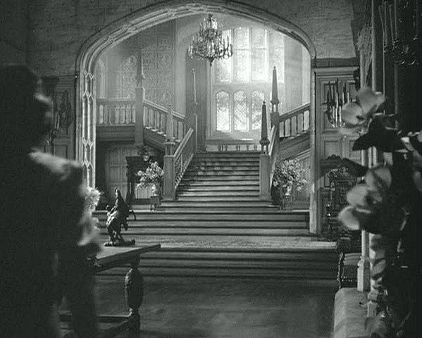 Grand Staircase at Manderley in Rebecca
