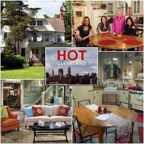 Hot in Cleveland Set Design | hookedonhouses.net
