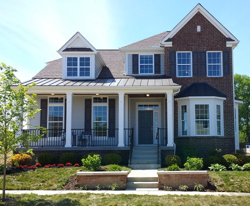 Awe Inspiring Model Home 2 Taking A Tour Of A Smaller House Plan Hooked On Largest Home Design Picture Inspirations Pitcheantrous