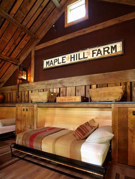 Maple Hill Farm Barn Sleeping Loft
