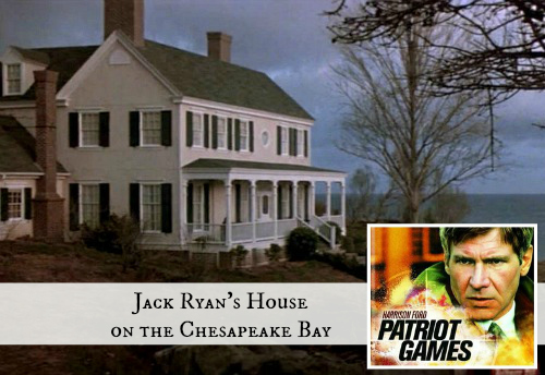 "Jack Ryan's Country House in ""Patriot Games"" 