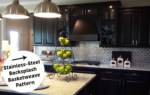 Stainless Steel Backsplash Tile | hookedonhouses.net