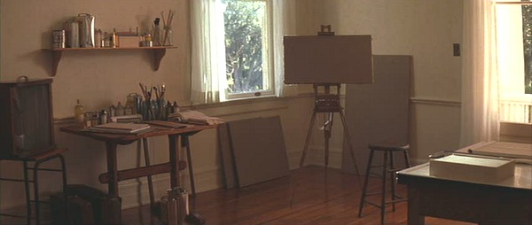 The Notebook movie house art studio