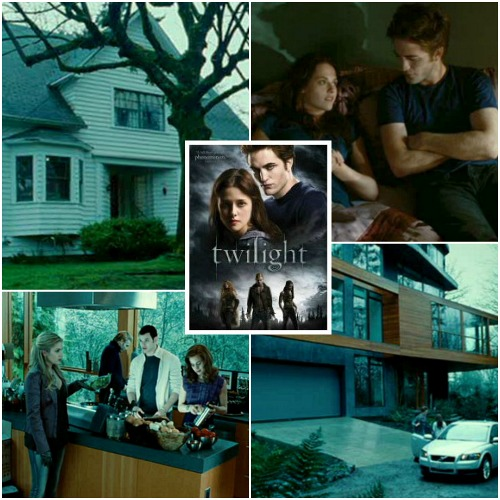 "Houses featured in the movie ""Twilight"" 