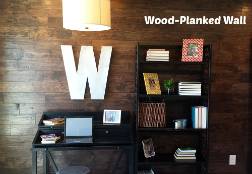Wood Planked Wall | hookedonhouses.net