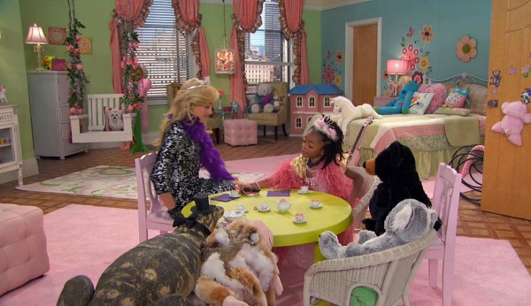 Zuri's Bedroom on Disney TV Show Jessie