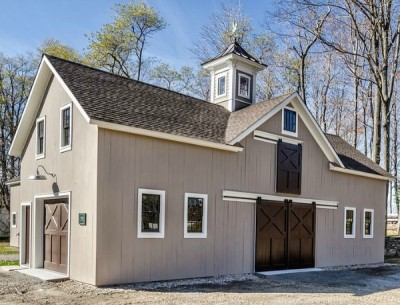 "Converting Old Stables Into a Cool ""Music Barn"""