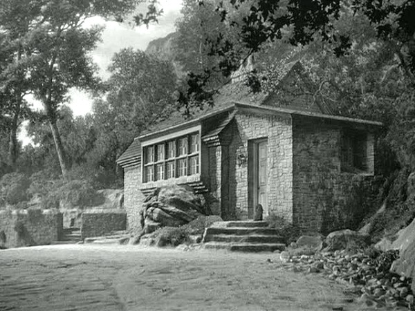 the stone cottage in the classic movie Rebecca