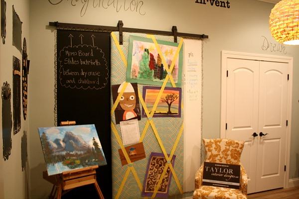 Craft Room at Homearama 2014