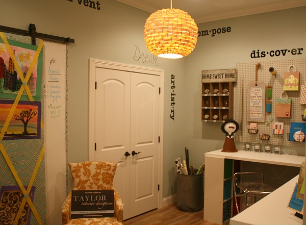 Craft and Gift Wrapping Room at Homearama