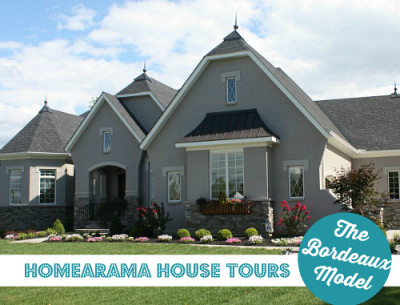 Homearama House Tour #1: The Bordeaux Model