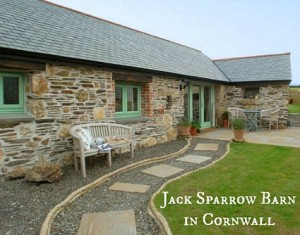 Jack Sparrow Barn Converted Stone Cottage Cornwall