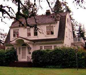 "Laura Palmer's house on ""Twin Peaks"" 
