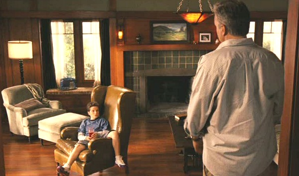 Zathura movie Craftsman fireplace