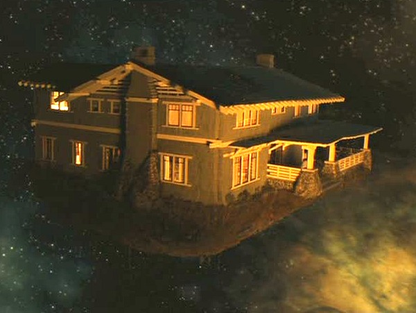 Zathura movie Craftsman-floating in space
